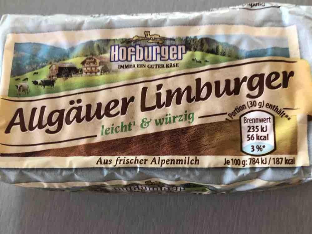 Allgäuer Limburger, 19% Fett absolut von kohlliesel | Hochgeladen von: kohlliesel