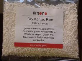 Konjac Rice, dry | Hochgeladen von: Tahnee