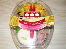 Star Salat, Schinken mit Joghurtdressing   Hochgeladen von: Samson1964
