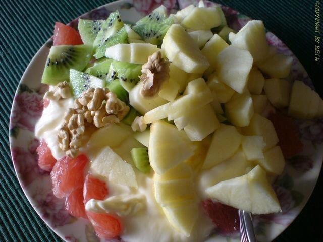 Klassischer Obstsalat   Hochgeladen von: Mrs.BeTh