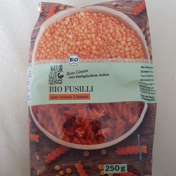 Bio Fusilli aus roten Linsen von Coco86 | Hochgeladen von: Coco86