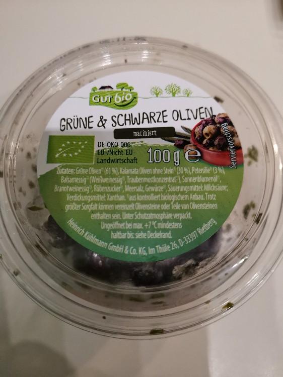 Grüne & Schwarze Oliven mariniert von reiner734637   Hochgeladen von: reiner734637
