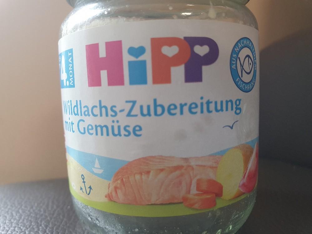 Hipp Wildlachs-Zubereitung mit Gemüse von Sengajaa | Hochgeladen von: Sengajaa