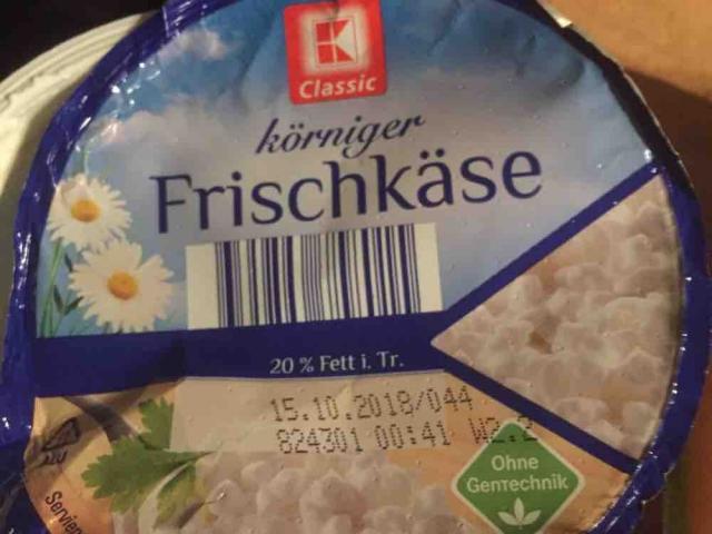 Körniger Frischkäse, 20% Fett i. Tr.  von knurri | Hochgeladen von: knurri