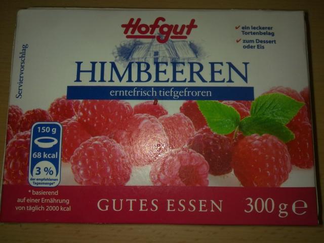 Himbeeren erntefrisch tiefgefroren, Himbeere   Hochgeladen von: Goofy83