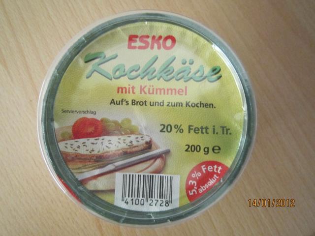 Esko Kochkäse, mit Kümmel | Hochgeladen von: Fritzmeister