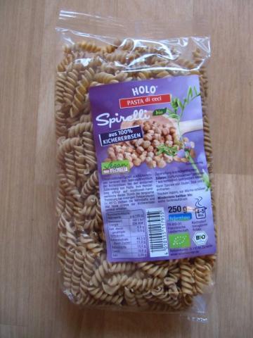 Spirelli aus 100% Kichererbsen | Hochgeladen von: 8firefly8