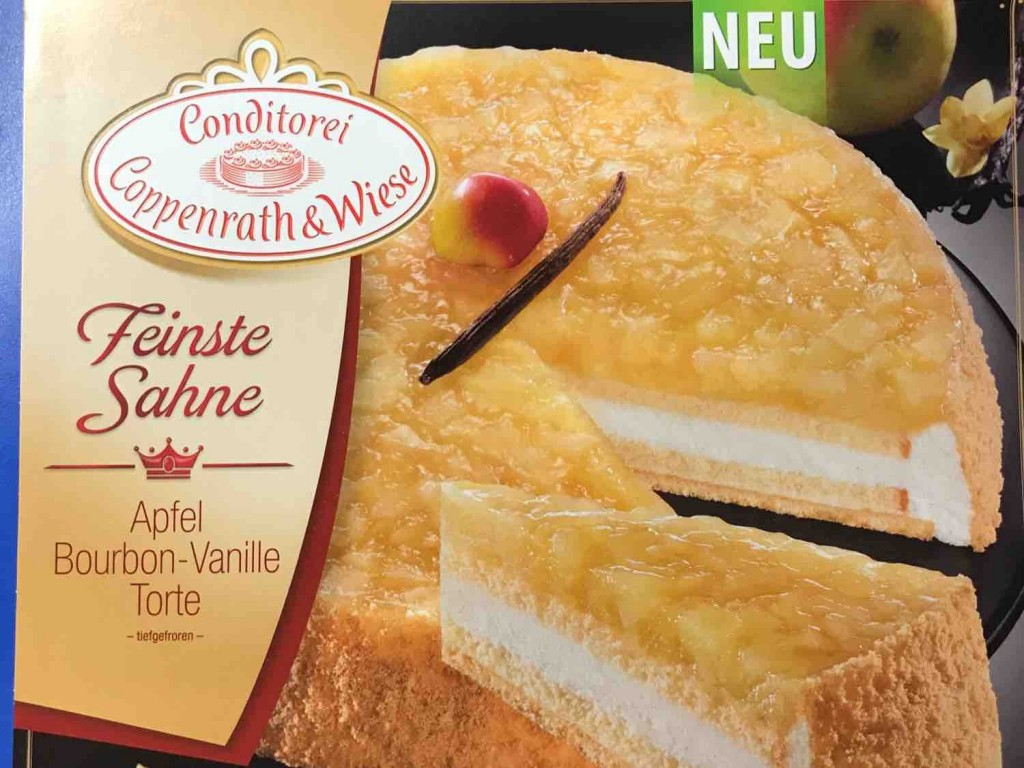 Coppenrath Wiese Feinste Sahne Apfel Bourbon Vanille Torte