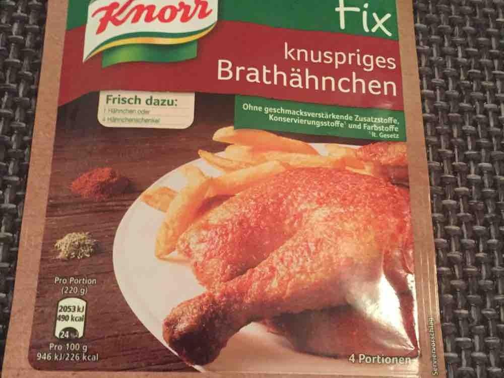 Fix, knuspriges Brathähnchen von sala30 | Hochgeladen von: sala30