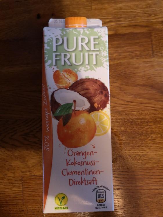 Orangen Kokosnuss Clementinen Direktsaft von jvonrueden   Hochgeladen von: jvonrueden