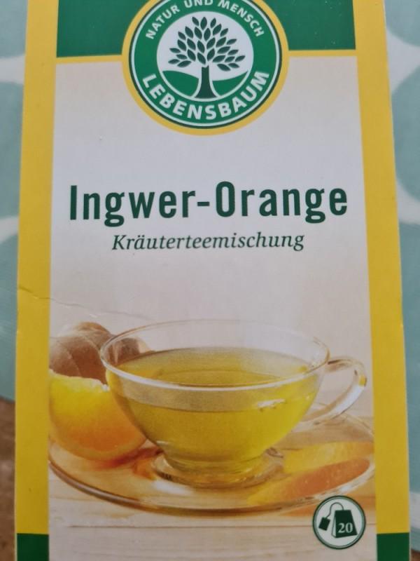 Ingwer-Orange Tee, Kräuterteemischung von Terlinito   Hochgeladen von: Terlinito