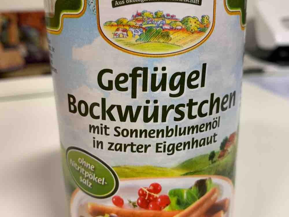 Geflügel Bockwürstchen von Sabine Hoffmann | Hochgeladen von: Sabine Hoffmann