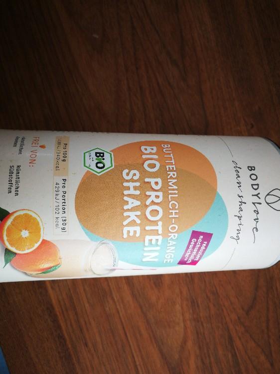 Bio Protein Shake Buttermilch-Orange von sigu | Hochgeladen von: sigu