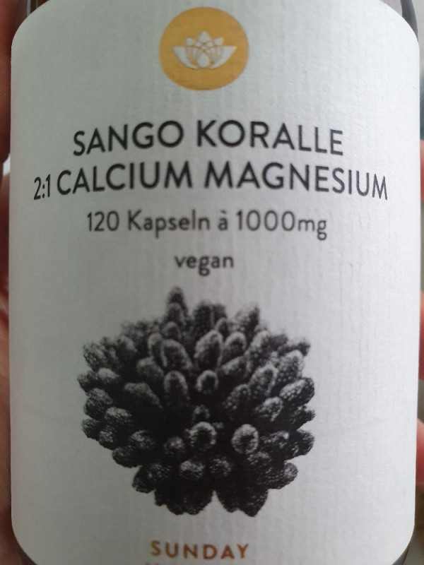 Sango Koralle 2:1, 3 kapseln, vegan von Marcimarc85 | Hochgeladen von: Marcimarc85