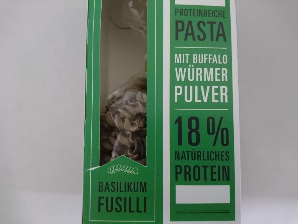 Basilikum Fusilli, Proteinreiche Pasta von mrclx | Hochgeladen von: mrclx