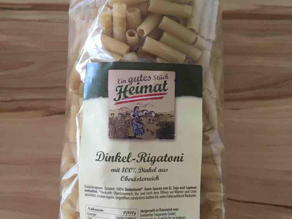 Dinkel-Rigatoni, 100% Dinkelmehl von americanstafford   Hochgeladen von: americanstafford