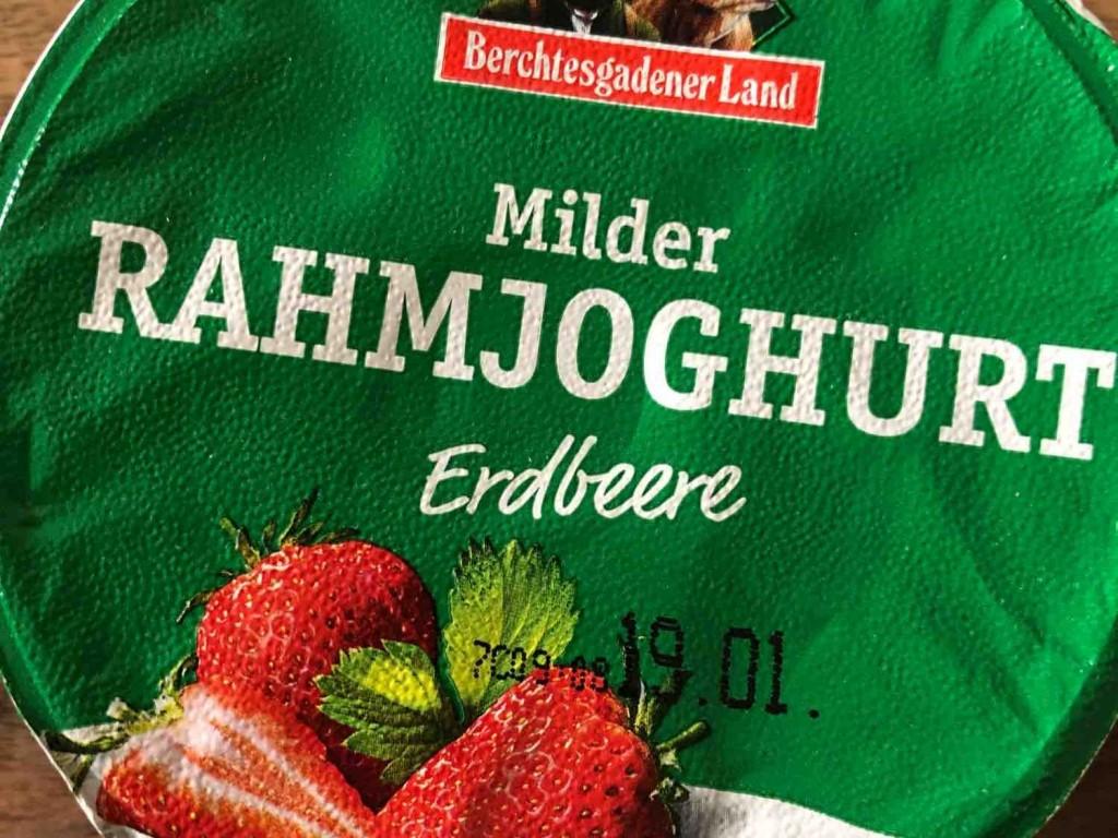 Berchtesgadener Land Rahmjoghurt mild, Erdbeere von mrswallace   Hochgeladen von: mrswallace