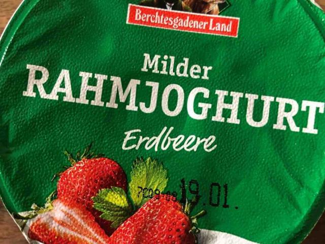 Berchtesgadener Land Rahmjoghurt mild, Erdbeere von mrswallace | Hochgeladen von: mrswallace