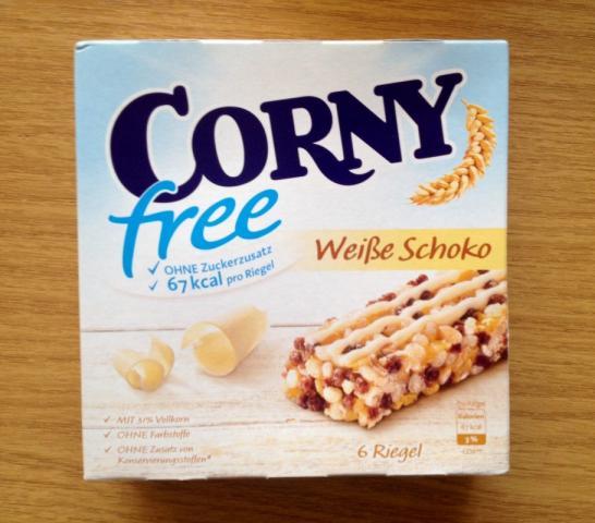 Corny free, Weiße Schoko | Hochgeladen von: xmellixx