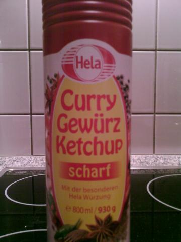 Curry Gewürz Ketchup, scharf | Hochgeladen von: rogoaa