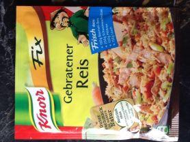 Knorr Fix, Gebratener Reis (Trockenprodukt) | Hochgeladen von: dsstue