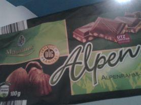 maurinus Alpenrahm Nuss-Schokolade, Nuss | Hochgeladen von: Janiwood