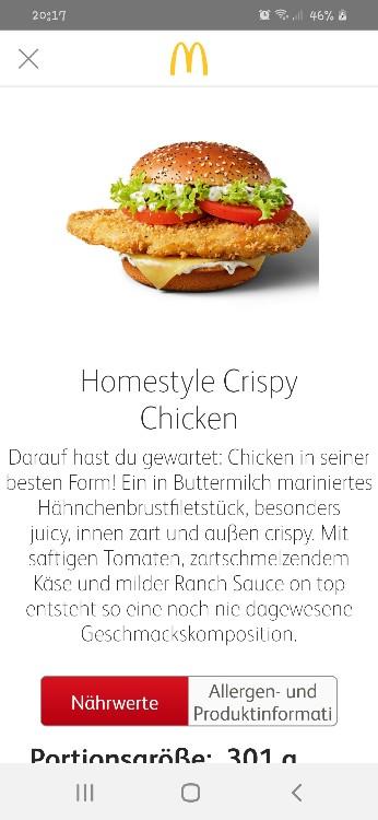 Homestyle Crispy Chicken von bingoundbongo   Hochgeladen von: bingoundbongo