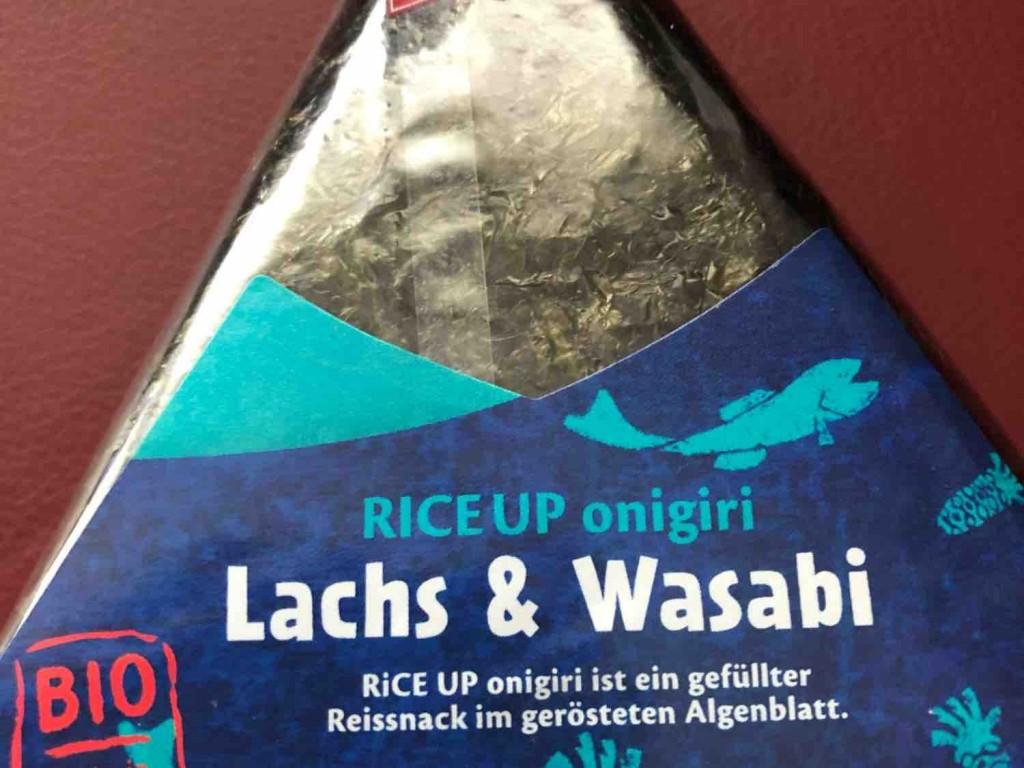 RICE UP onigiri Lachs & Wasabi von Stephy84 | Hochgeladen von: Stephy84