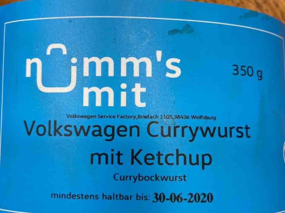 Currywurst mit Ketchup, Currybockwurst von gesmo80 | Hochgeladen von: gesmo80