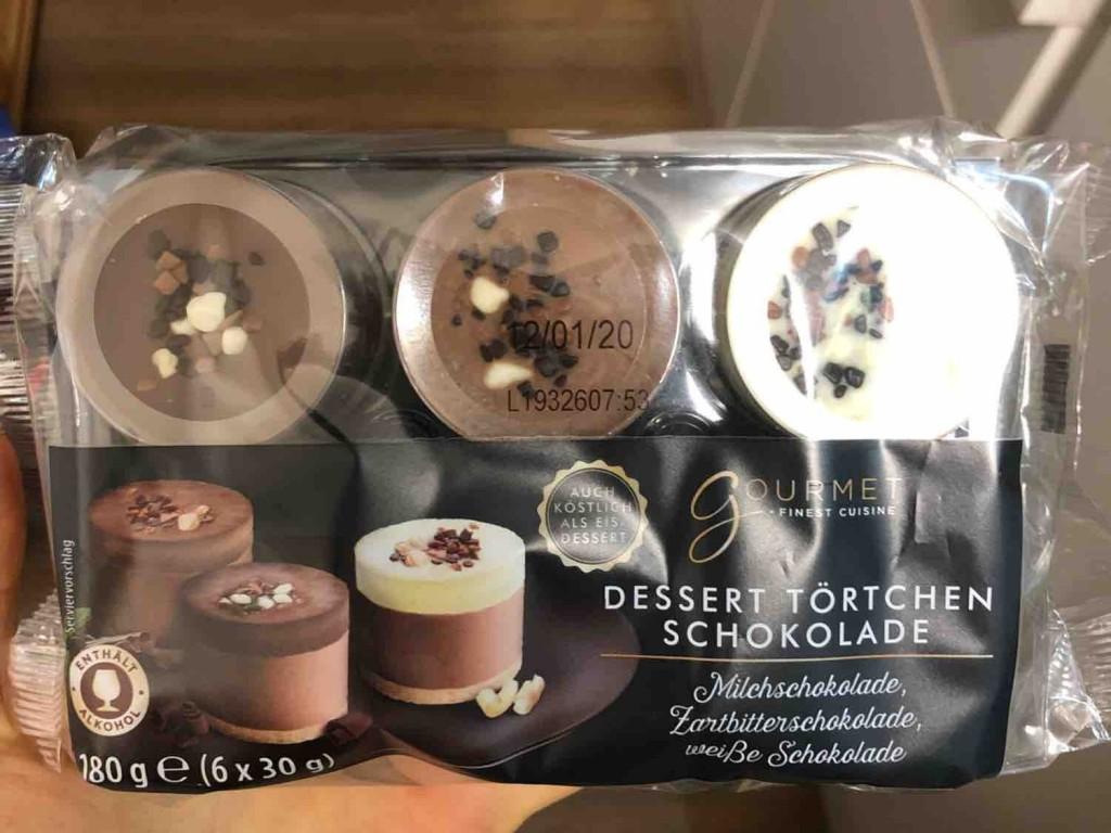 Dessert Törtchen, Schokolade (Milchschokolade) von alexandra.habermeier | Hochgeladen von: alexandra.habermeier