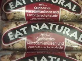 Eat Natural, Cranberries, Makadamianüsse und Zartbitter   Hochgeladen von: SvenB
