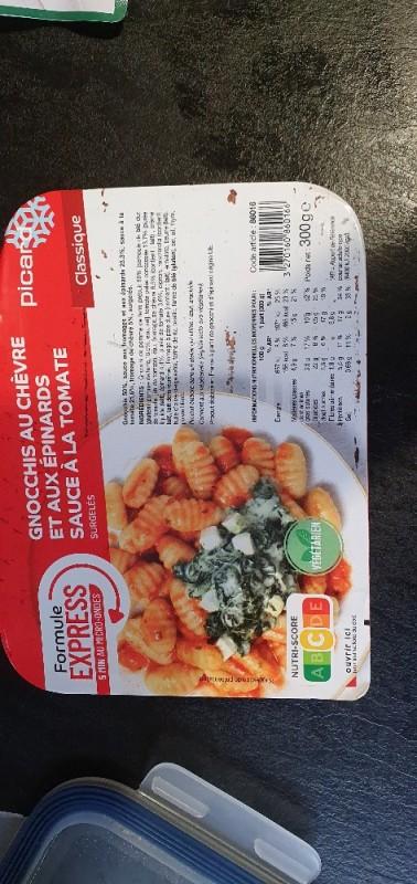 Gnochis mit Schafskäse in Spinat & Tomatensauce von Patrick138 | Hochgeladen von: Patrick138
