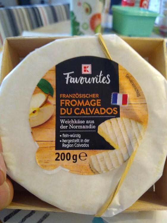 Fromage du Calvados, Weichkäse aus der Normandaie von railroadbiker945   Hochgeladen von: railroadbiker945
