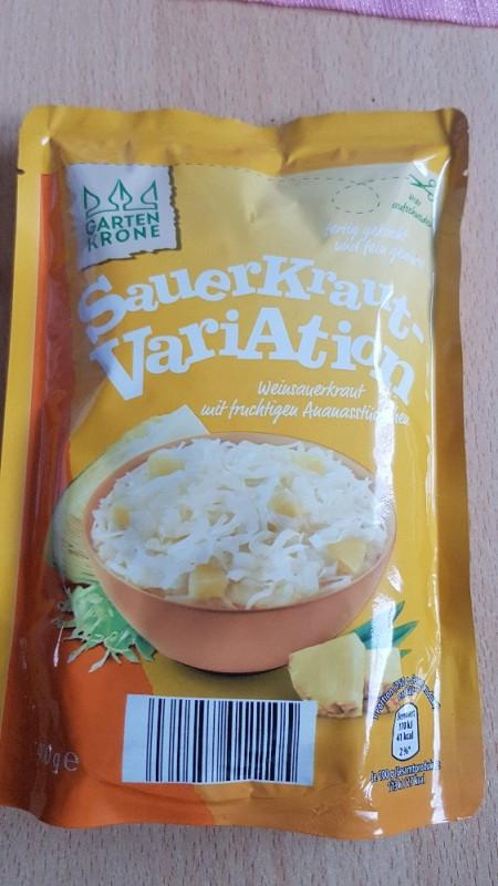 Sauerkraut Variation , Weinsauerkraut mit Ananas von meralinskaa | Hochgeladen von: meralinskaa