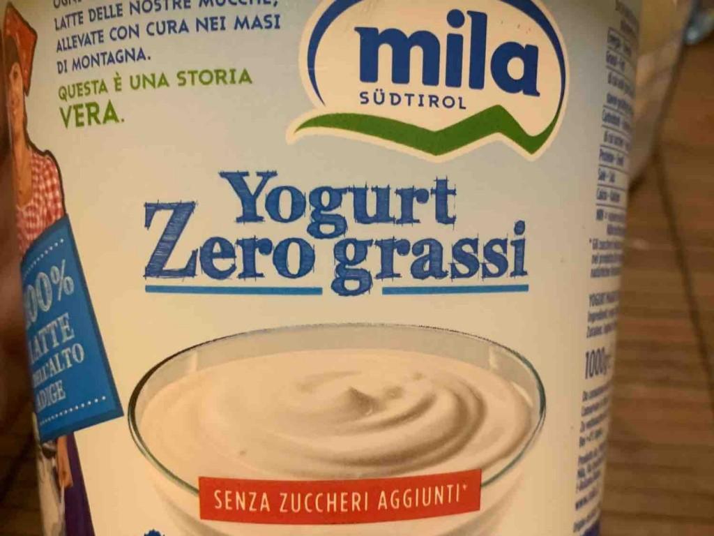 Yogurt Zero grassi, Yogurt von Tobias Nikolussi | Hochgeladen von: Tobias Nikolussi
