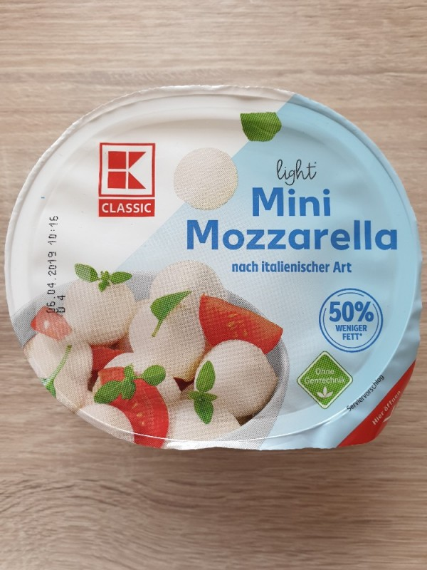 Mini Mozzarella Light, nach italienischer Art von kathzab | Hochgeladen von: kathzab