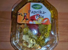 Paprika Mix gefüllt mit Frischkäse, Sapros   Hochgeladen von: sandragabele757