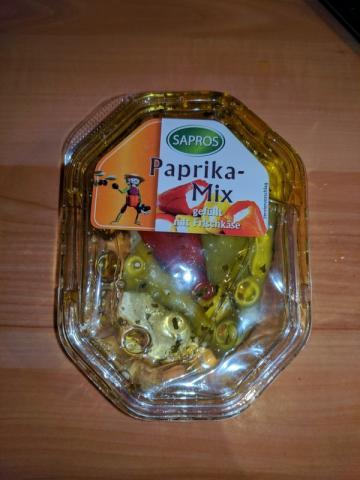Paprika Mix gefüllt mit Frischkäse, Sapros | Hochgeladen von: sandragabele757