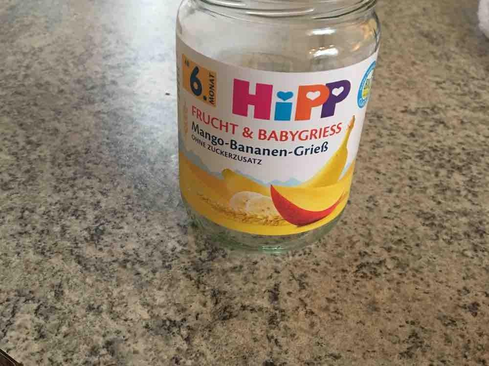 Hipp Sommer Genuss, Mango-Banane-Grieß von katinka279   Hochgeladen von: katinka279