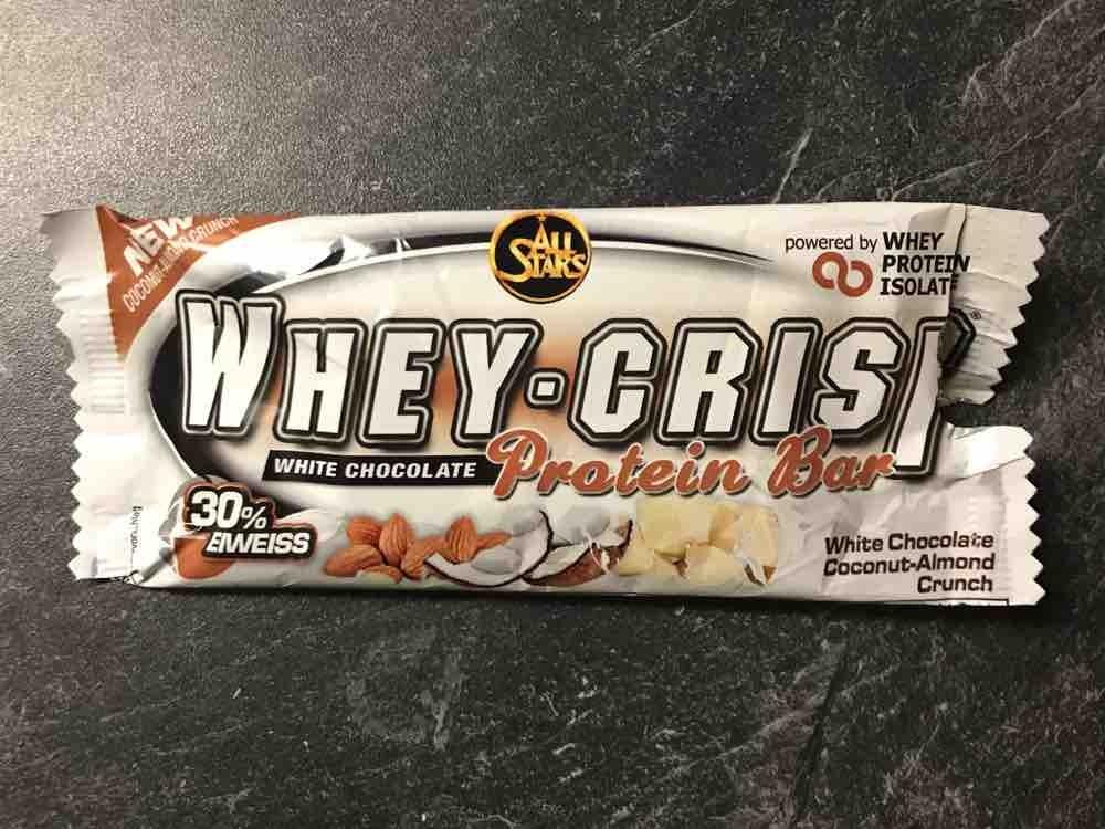 Whey Crisp White Chocolate Coconut - Almond Crunch von infoweb161 | Hochgeladen von: infoweb161