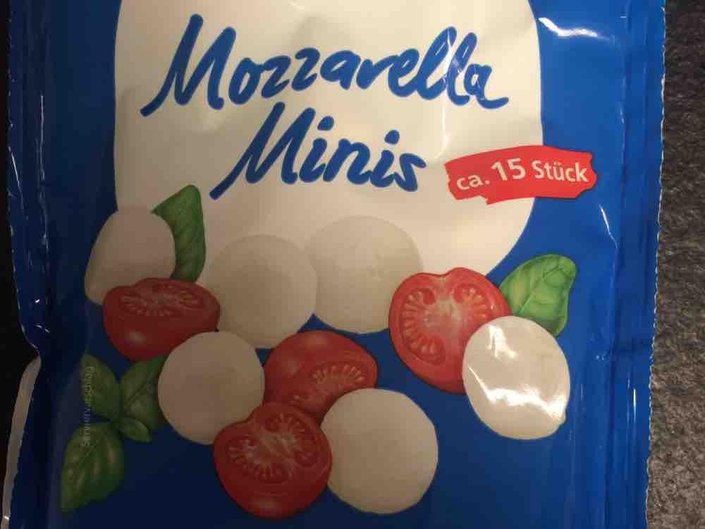 Mozzarella Minis, 45% Fett i.Tr. von anitaguenthner | Hochgeladen von: anitaguenthner