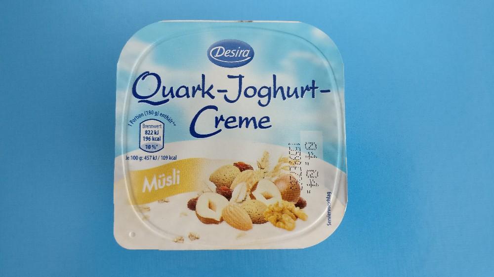 Desira Quark-Joghurt-Creme, Müsli von jojodertiger442 | Hochgeladen von: jojodertiger442
