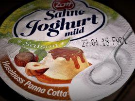 Sahne Joghurt mild, Haselnuss - Panna Cotta   Hochgeladen von: Sabine34Berlin