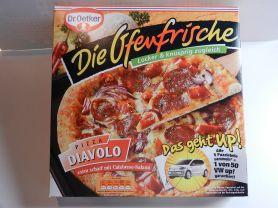 Ofenfrische Diavolo