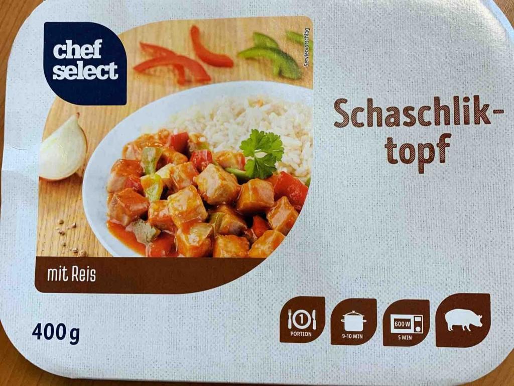 Schaschlik-Topf, in pikanter Sosse von Tomdum | Hochgeladen von: Tomdum