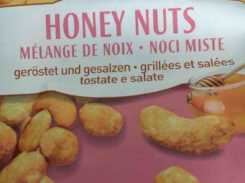 Honey Nuts, Nussmischung honiggeröstet und gesalzen von mariabillo498   Hochgeladen von: mariabillo498