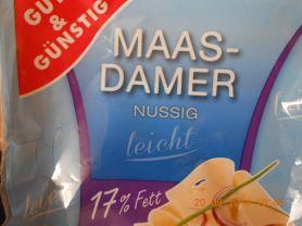 Maasdamer nussig - Lust auf leicht   Hochgeladen von: Highspeedy03