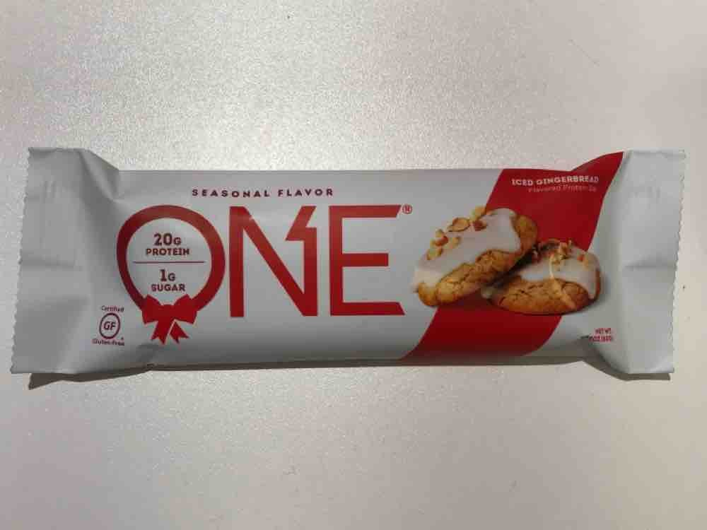ONE Bar Iced Gingerbread, 1g Zucker von Y.DET | Hochgeladen von: Y.DET