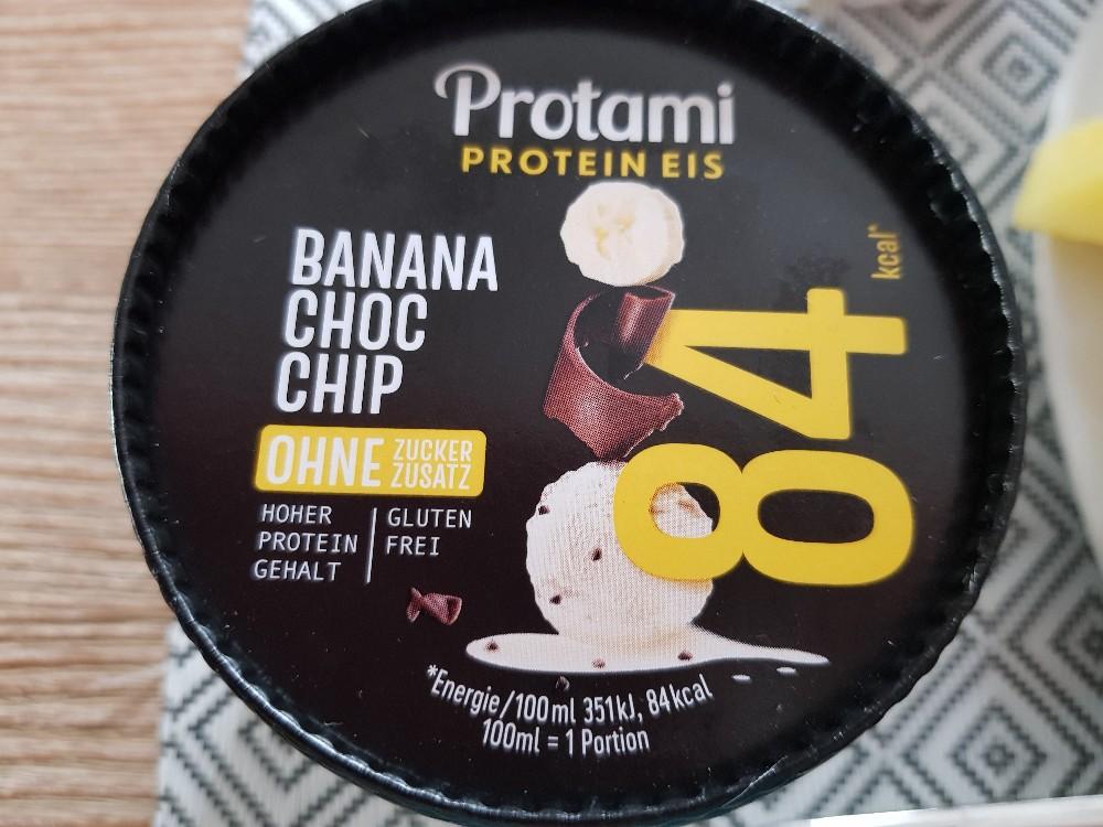 Protein Eis Banana Chocolate Chip von bubla | Hochgeladen von: bubla