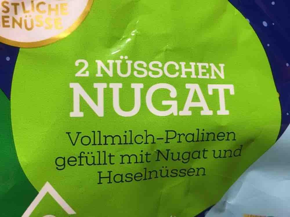 2 Nüsschen Nugat, Praline von nicoleschaller229 | Hochgeladen von: nicoleschaller229